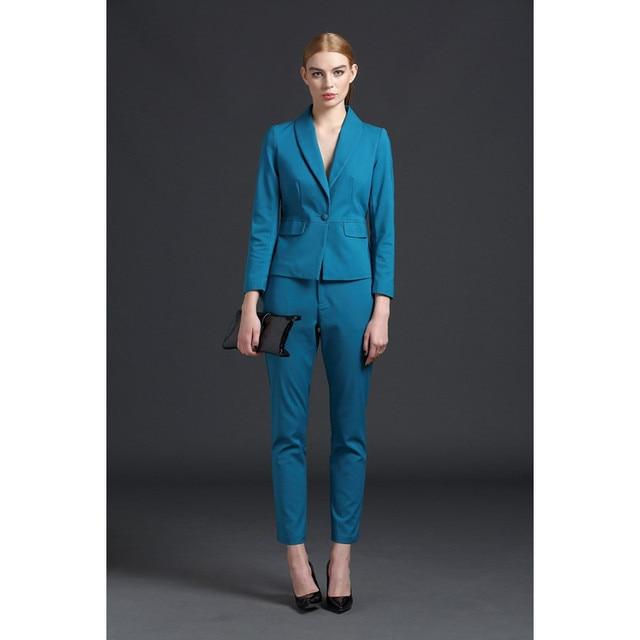 75e3ba26719dd Limited Sale Women Evening Pant Suits 2019new Formal Women Suit For Office  Ladies Business Elasticity Professional