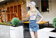 Women Skirts 2019 Summer Casual Solid A-line Above Knee Mini Empire New Hot Cowboy Skirt Pure Color Rivet Belt Large Size Female цена и фото
