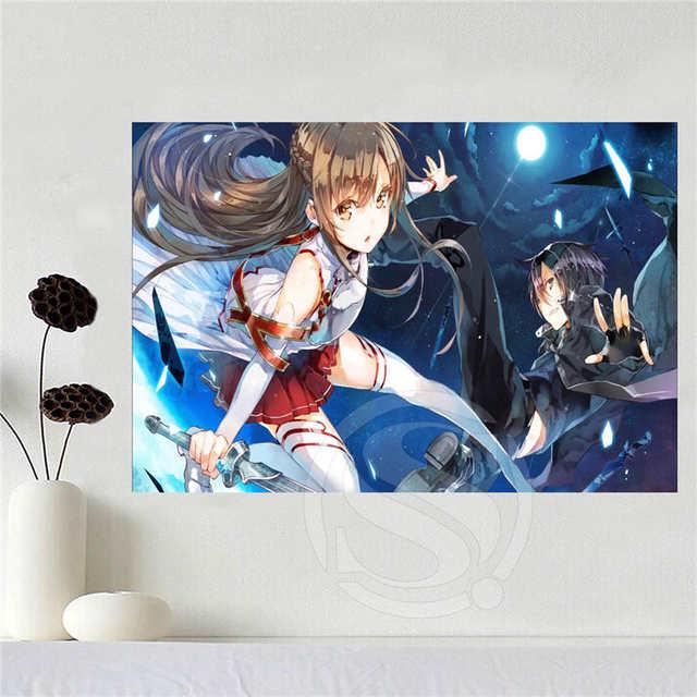 Canvas Poster Art Sword Art Online