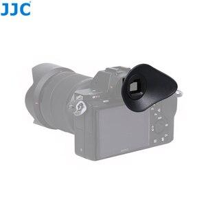 Image 4 - JJC FDA EP16 עיינית עבור Sony A7RIV A7RIII A7III A7II A7SII A7R A7S A7 A58 A99II A9II DSLR עינית מצלמה אבזרים עינית