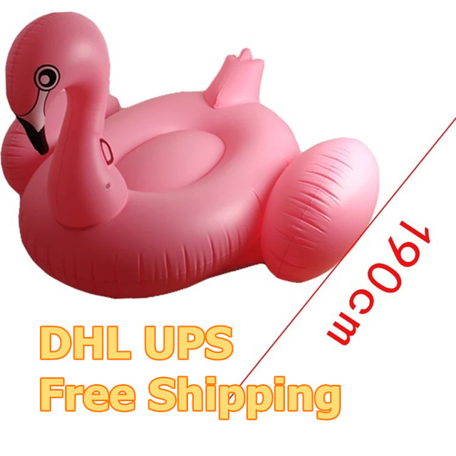 190cm Giant unicorn Inflatable Flamingo Ride-On Pool Toy Float inflatable swan Swim Ring Holiday Water Fun Pool floating row 1 9 1 9m hot giant pool swimming inflatable flamingo float air matters floating row swim rings summer water fun pool toys