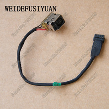 AC DC Jack wtyczki zasilania w Port ładowania gniazdo złącza kabel uprząż dla HP PROBOOK 430 450 455 G1 G2 4340 S 4740 S 4745 S M6