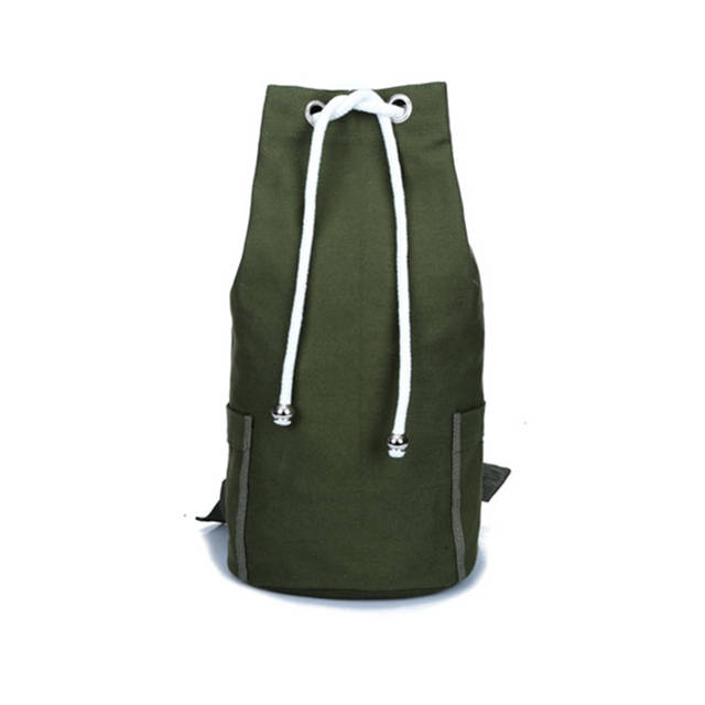 0d0f06c06b4 placeholder SWYIVY Canvas Drawstring Bucket Gym Bag Unisex Training Sports  Backpack Basketball Football Bag Big Capacity For