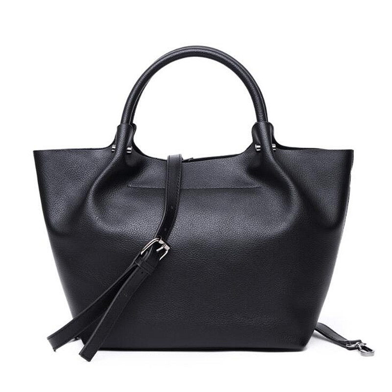Casual Garden Party top-handle bags Women Genuine Real Leather Big Capacity Totes Famous Brand Shoulder Purse