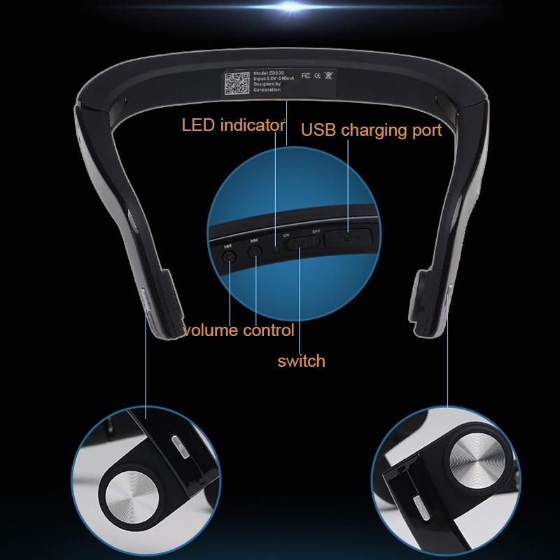 Bluetooth casque sans fil casque écouteur Conduction osseuse pour Sport en plein air JLRJ88