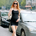 Maternity clothes Mini dreses for pregnant Sleeveless cotton pregnancy Summer dress L1230
