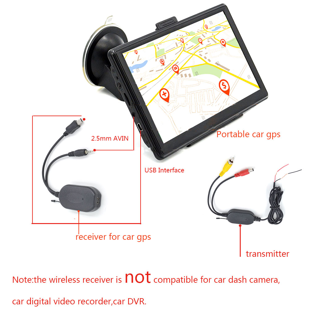 24g Wireless Car Camera Video Transmitter And Receiver For Backup Wiring Diagram Rear View Connecting Dvd Stereo