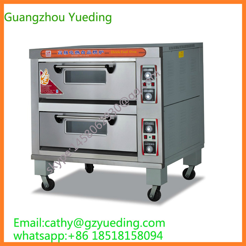 Industrial Kitchen Ovens For Sale: Hot Sale Bakery Equipment Two Layers Commercial Electric