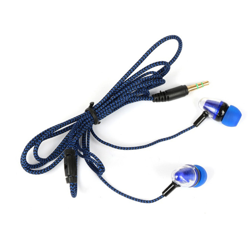 Image 3 - Mambaman TM1 Earphone 3.5mm in ear earphones bass sport fone de ouvido headset stereo earphone for phone xiaomi iphone 7 plus s9-in Earphones from Consumer Electronics