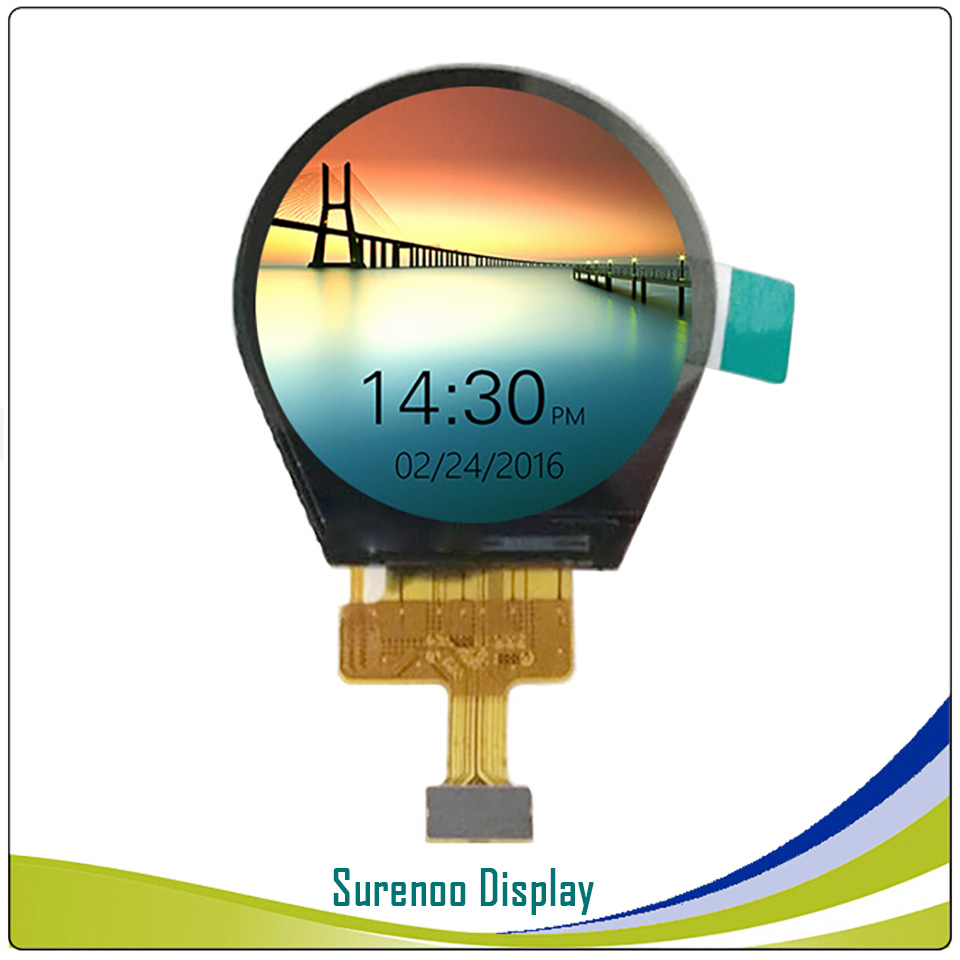 1.3 Inch Round Circle Circular 240X240 IPS Serial ST7789V TFT LCD Display Module Screen / Connector: HRS DF37B-24DP-0.4V(51)