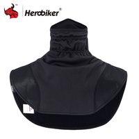 HEROBIKER Moto Thermique Cagoules Écharpe Moto Chapeaux Cou Polaire Chapeaux Écharpe Balaclava Coupe-Vent Chaud Moto Masque