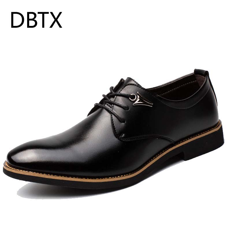 DBTX men formal shoes dress leather pointed toe man oxford shoes business with design luxury brand shoe male men's flats 630 ac220 240v charger uc18yksl replace for hitachi 14 4v 18v li ion battery uc18yrsl bsl1415 bsl1420 bsl1440 bsl1450 uc18ygsl