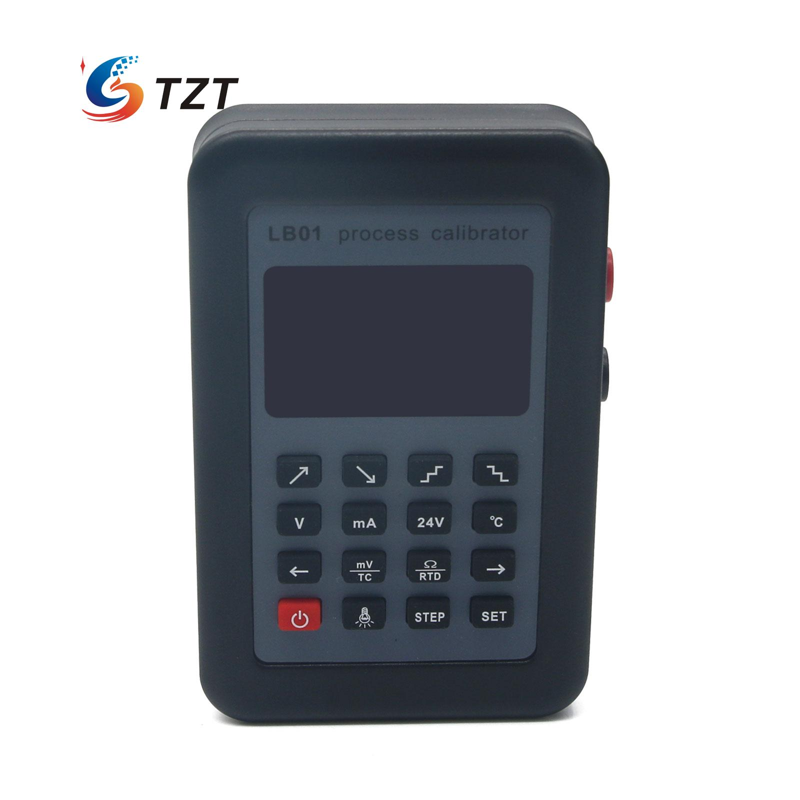 Resistance Current Voltmeter Signal Generator Source Calibrator 4-20mA/0-10V/mV LB01 4 20ma signal generator 24v current and voltage transmitter calibrator signal source 0 10v constant current source simulation