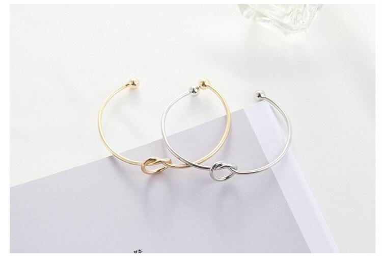 4 Colors Love! Tie The Knot Bangle Bracelet*