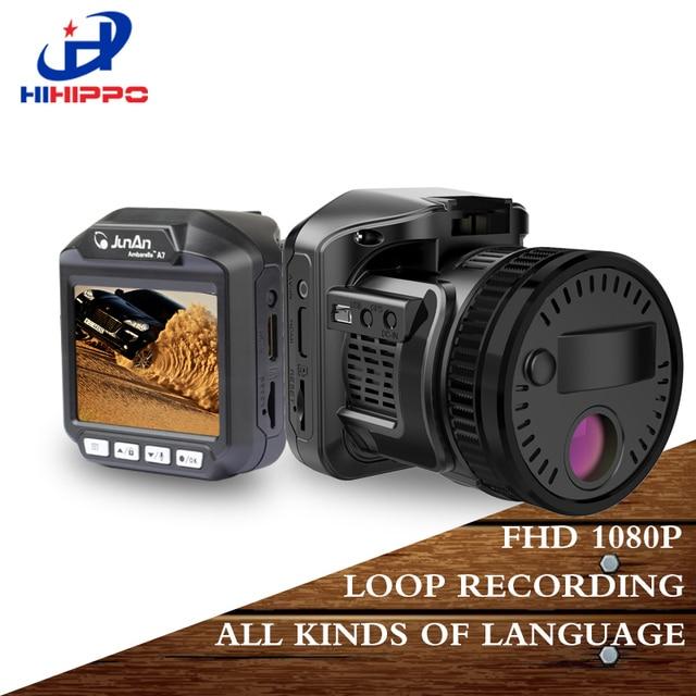 Hihippo Автомобильная камера DVRs радар-детектор DVR Мини Скрытая супер FHD 1080 P Wi-Fi автомобильный видеорегистратор регистраторы ночь видения с Ambarella