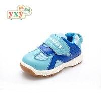 YXY 2019 primavera otoño niños niño niñas función casual zapatos de cuero genuino correr niños al aire libre zapatos transpirables