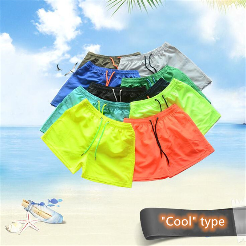2019 New Hot Sale Mens Swimwear Swim Shorts Trunks Beach Board Shorts Swimming Pants Swimsuits Mens Running Sports Surffing