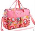Nuevo diseño 5 colores del pañal bolsas para la mamá marca bebé viajes nappy bolsos Bebe organizador Tommy cochecito para maternidad