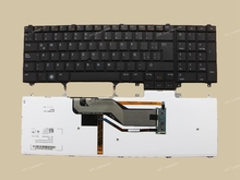 New La Latin Spanish Keyboard For Dell PRECISION M4600 M4700 M6600 M6700 M2800 Black Backlit With Point stick
