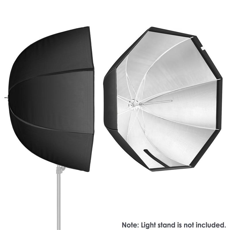 """Octagon Umbrella Speedlite Softbox: WRUMAVA 80cm / 32"""" Octagon Umbrella Softbox Portable"""