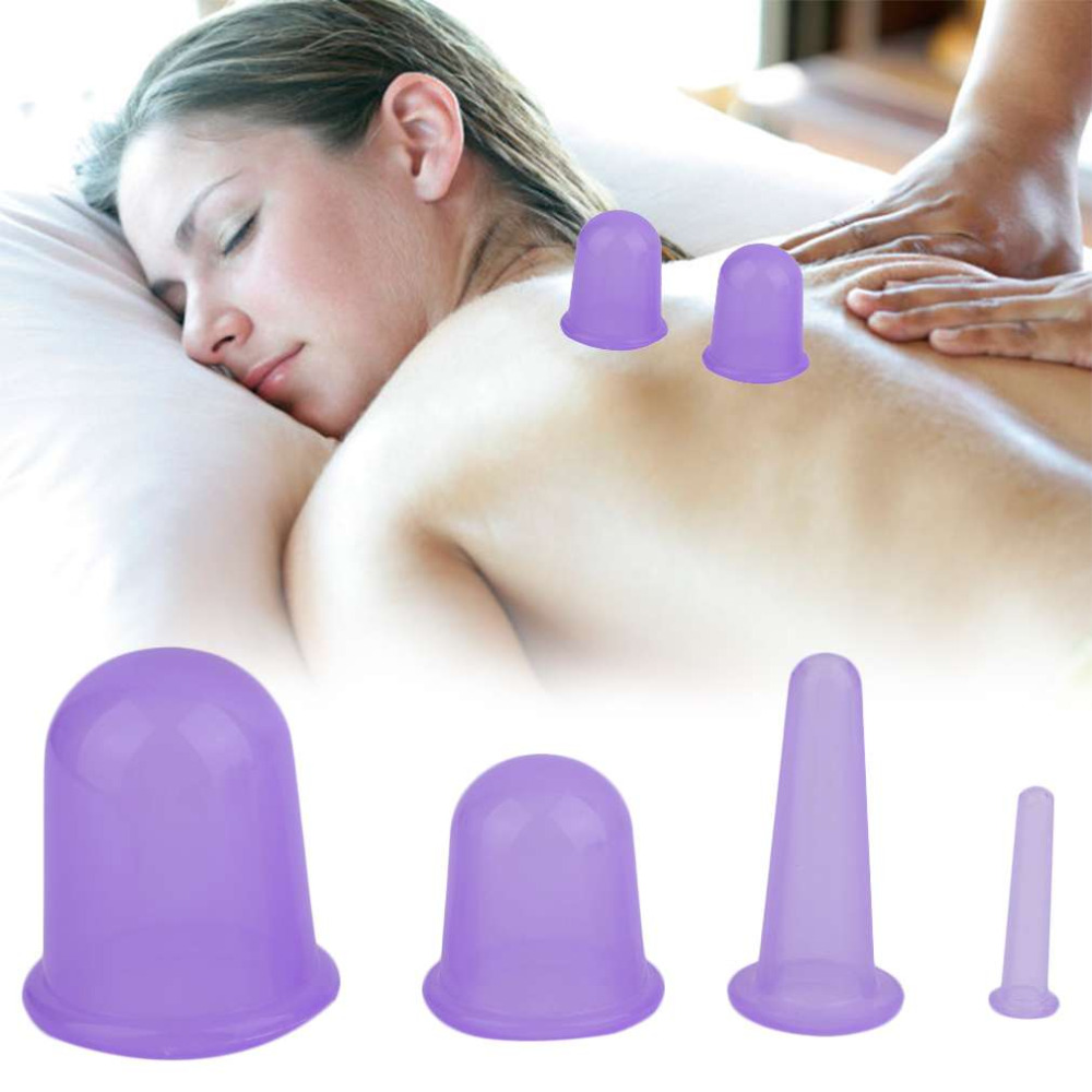 Personal Home Family Body Massage Helper Medical Silicone Cupping Improve Circulation Health Care Massage Cupping top quality nicorette coated gum 2mg 100 pieces fresh mint personal healthcare health care