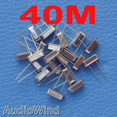 ( 20 pcs/lot ) <font><b>40</b></font> <font><b>MHz</b></font> Quartz Crystal Resonator, Oscillator. image