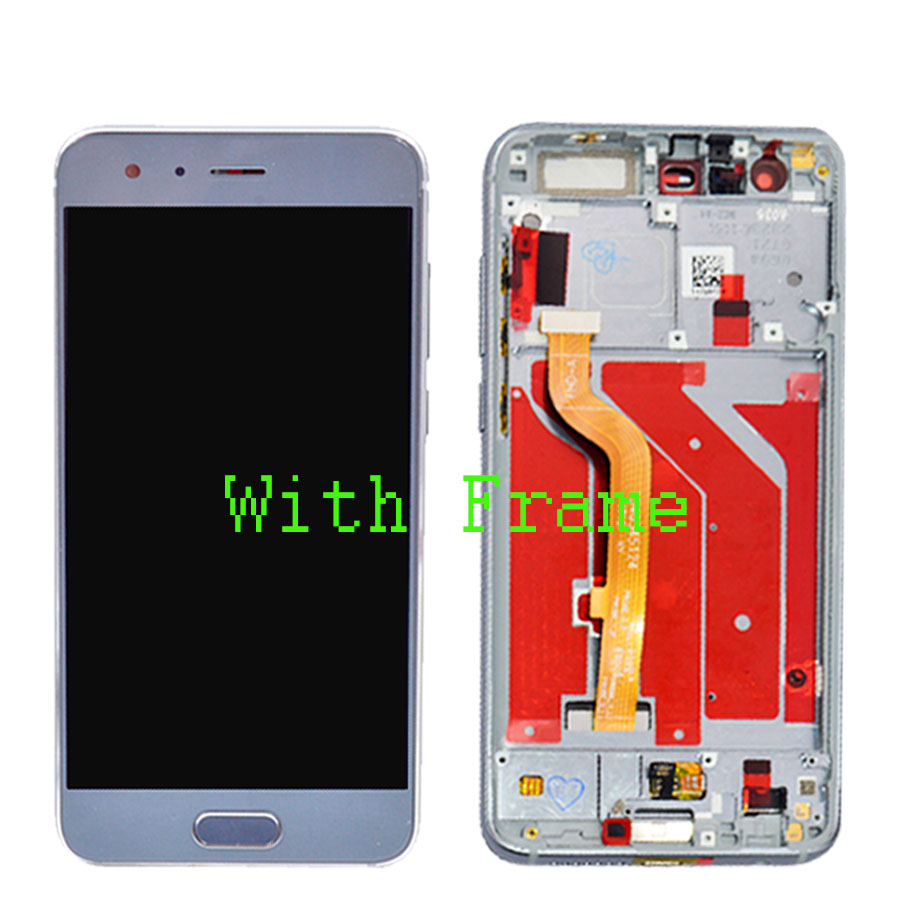 Image 3 - New For Huawei Honor 9 Display LCD Tuoch Screen Assembly honor 9 lcd with frame For Huawei Honor 9 STF L09 STF AL00 STF AL10 STF-in Mobile Phone LCD Screens from Cellphones & Telecommunications on