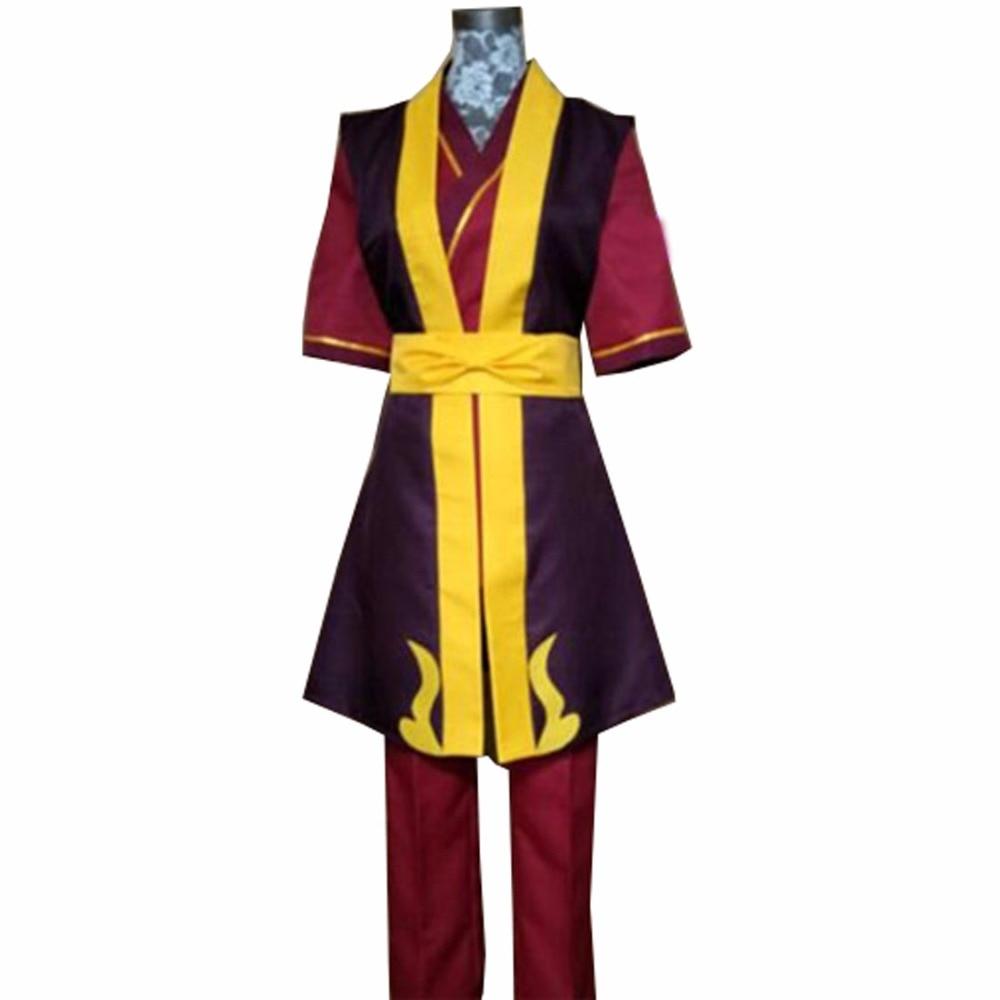 2018 Avatar The Legend of Korra prince ZUKO Cosplay Costume Full Set