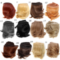 1pcs 5cm*100CM Bangs hairstyle modification For  1/3 1/4 1/6 BJD /SD DIY Dolls Accessories