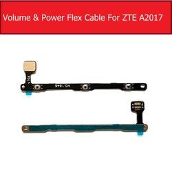 Power & Volume Flex Cable Para ZTE Axônio Segredo 7 A2017 A2017G A2017U Power & Controle de Volume Tecla Lateral Botão Interruptor Peças de Reparo
