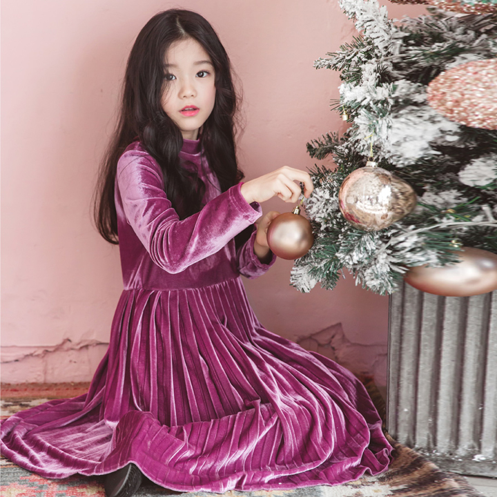 Girls Princess Dress Long Sleeved A-line Evening Dresses Children Fashion Clothes Baby Girl Costume Kids Party Dress 11 12 13 14 olgitum new autumn winter jacket coat women parka woman clothes solid long jacket slim women s winter jackets and coats cc107