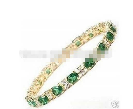 ZCD bracelet 320 + + + siêu đẹp gold filled xanh braclet