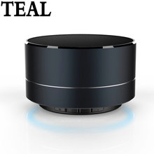 Metal Wireless Bluetooth speaker Read SD TF card Portable speaker Support Calls With Microphone For PC Iphone Sumsang Xiaomi