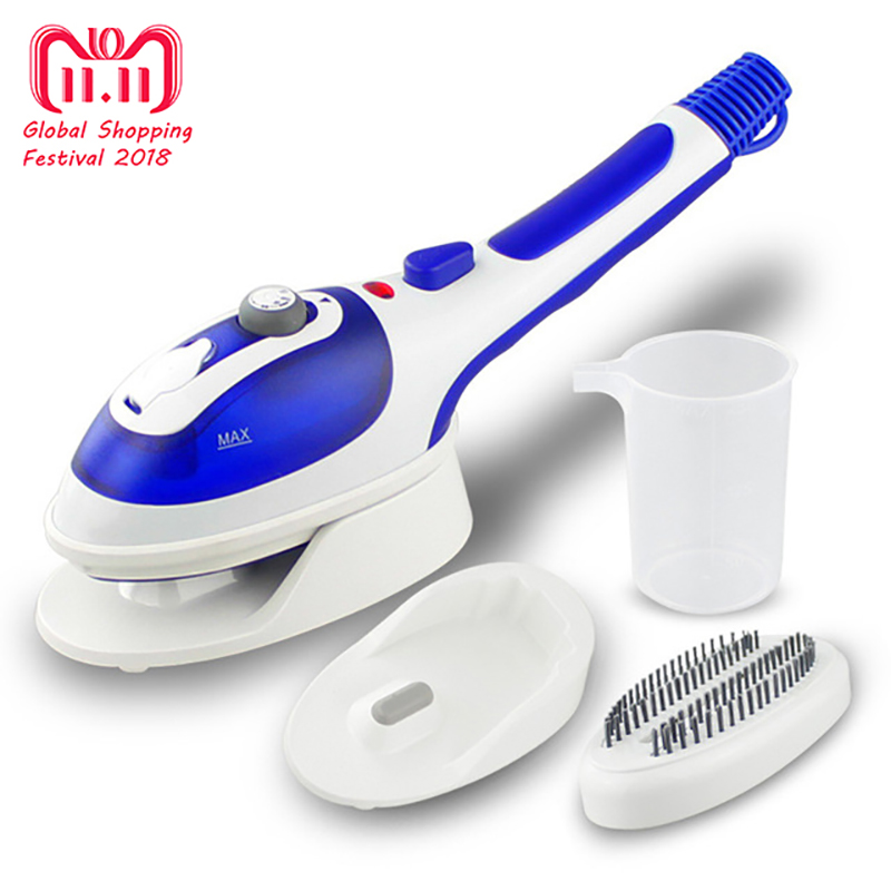 Electric Iron Steamer For Ironing Clothes Handheld Garment Steamer Vertical Portable Travel With Steam Brush EU US plug