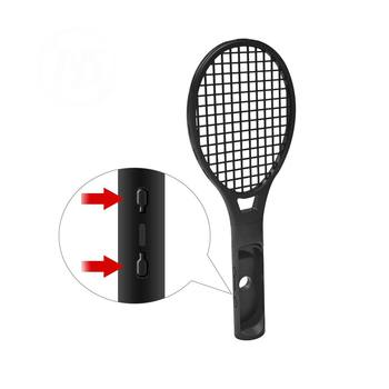 2 Pack Tennis Racket Handle Controller Holder for Nintendo Switch Joy-Con 3