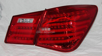 LED Tail Lights Red Color For Chevrolet Cruze 2009 2013 Rear Lamps