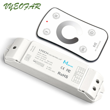 New Ltech Led Dimmer M1+M4-5A RF Wireless DC12-24V 180W/360W Remote With CV Receiver Light Dimming Free Shipping