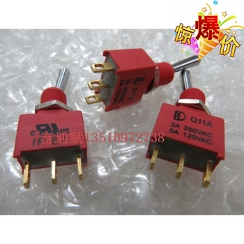 [VK]Toggles reset switch Unilateral Q11A waterproof model reduction and 3 feet