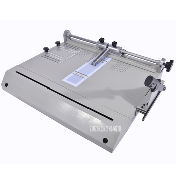 Hardcover Making Machine DC-100H, Hardcover Case Maker, A4 Vertical Loading Book Cover Making Machine Hot 600 * 520 mm