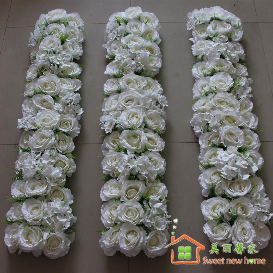 Sweet New Home New Wedding Flower Arch Flower Row Decorative