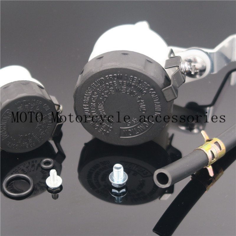 Motorcycle Master Cylinder Brake Fluid Reservoir Oil Cup Tank& Clutch Oil Reservoir For Honda CBR1000 CBR 1000 2004-2006 2007 cnc motorcycle brake fluid reservoir clutch tank cylinder master oil cup for yamaha fz6 600 fazer s2 2004 2005 2006 2007 2008