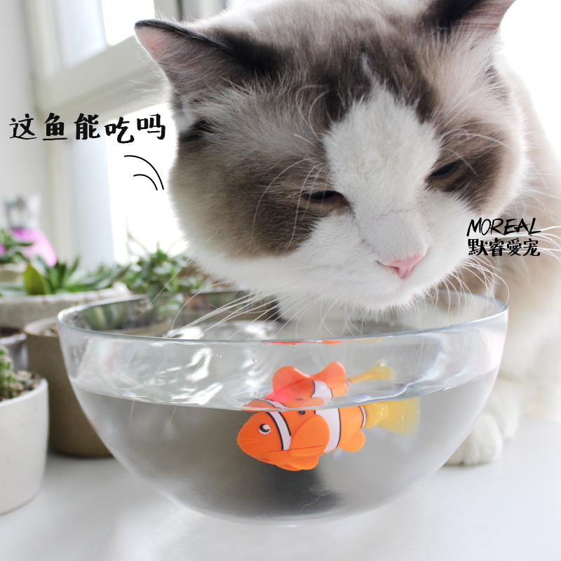 [MPK Store] , Battery-Powered Fish, Cat Toy Cat Fish 1
