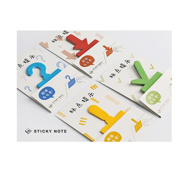 36 pcs/Lot Color mark sticky note memo pads Question marker for book planner sticker Stationery Office School supplies A6354