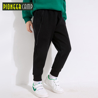 Pioneer Kids Boys Spring Sweatpants Casual Cool Run Sports Knit Pants Cotton Loose Trousers New Arrival