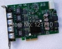 Промышленного использования PCIe GIE64 + 51 18519 0A40 GigE Vision 4 CH PCI Express Мощность over Ethernet Frame видеозахвата