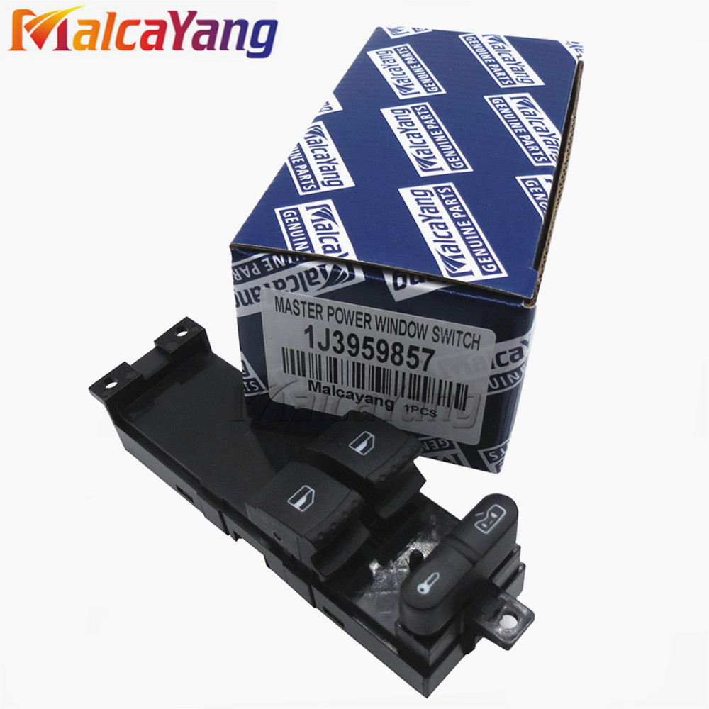 High Quality New Master Electronic Window Control Switch For Volkswagen