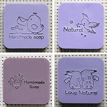 Soap Seal Stamp for Natural Handmade Decoration Acrylic Mold Chapter