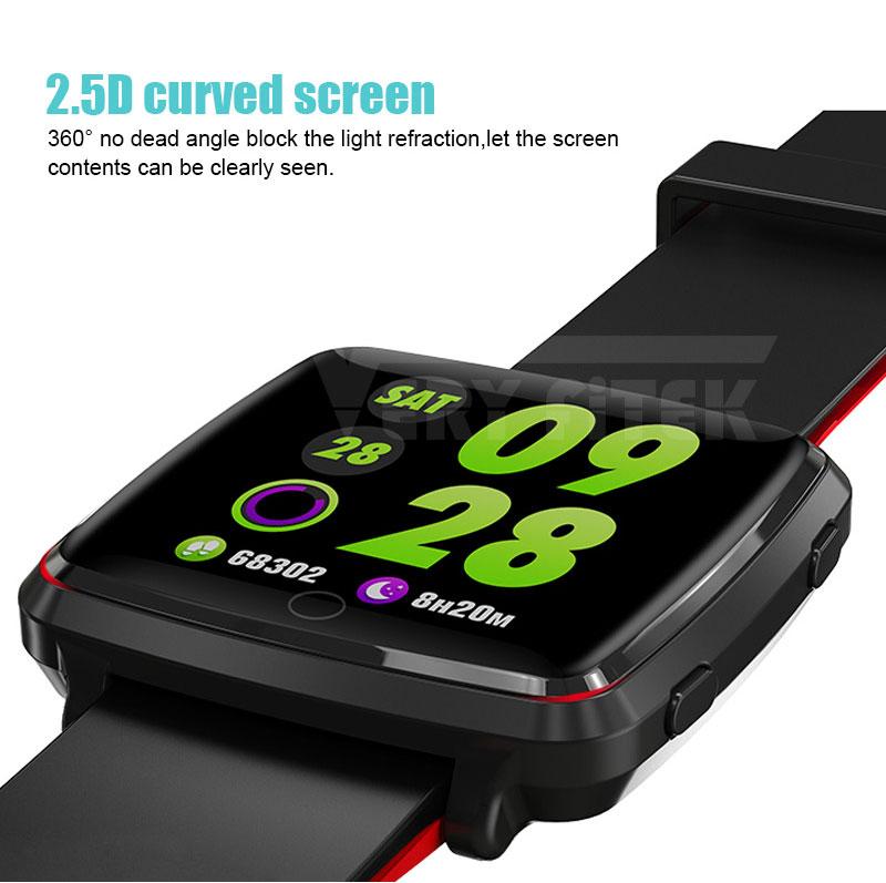 VERYFiTEK Smartwatch Blood Pressure Heart Rate Monitor Men Women Sport Watch Pedometer Stopwatch Smart Watch for IOS Android (5)