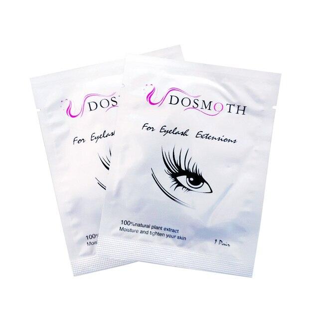 20 زوج/وحدة نوع جديد أفضل نوعية رمش تمديد الوبر الحرة رفادة عين من كوريا الجنوبية الكولاجين لصقة عين ، شريط العين ،