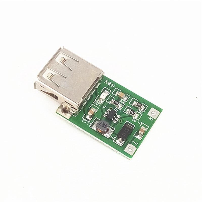 5pcs/lot DC-DC boost module (0.9V~5V) up 5V 600MA USB boost circuit board moving power boost